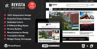 Wordpress Website Templates Stunning Revista Flat Magazine WordPress Theme By BloomPixel ThemeForest