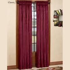 camden faux suede window treatment annas linens curtains