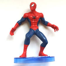 Spiderman Dc Comics W Ch Ing Right 4 Cake Topper Figurine