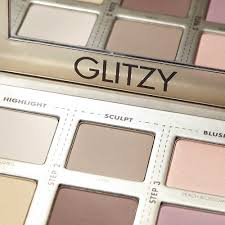 glitzy palette make up for ever for a 4 step face make up