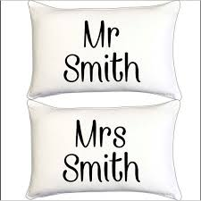 printed pillowcase personalised pillow
