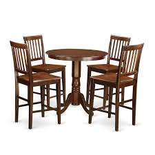 Wooden Importers Jackson 5 Piece Counter Height Pub Table Set Wayfair