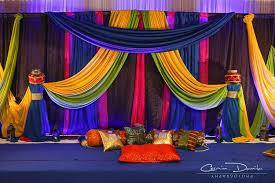 Anu+Greg+Gandoke+Indian+Wedding+Rituals+Punjabi+Ceremony+Pictures+13+Mirage+Banquet+Hall.…  | Beautiful wedding decorations, Mehndi decor, Indian wedding decorations