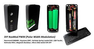 diy box mod pwm pulse width modulation
