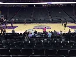 Golden One Seating Chart With Rows Golden 1 Center Section 107 Home Of Sacramento Kings