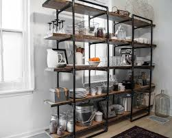 image of pipe shelves home depot