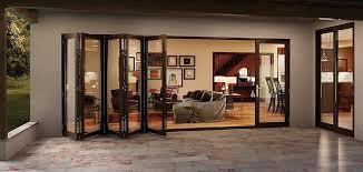 bi fold glass walls