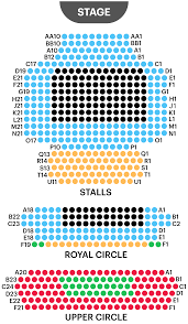 Royal George Seating Chart Headout West End Guide Duke Of Yorks Theatre Seating Plan