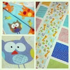 Free Baby Quilt Pattern: Easy Owl Crib Quilt | Hyvaa Paivaa Textiles & owl baby quilt Adamdwight.com