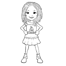 Small Picture Little Girl Coloring Pages 21902