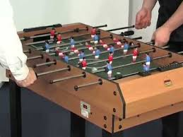 BCE 4ft 4 in 1 Multi Games Table including Pool, Football, Air Hockey and Tennis - M4B-1 YouTube