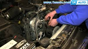 how to install replace serpentine belt idler pulley 1996 99 chevy how to install replace serpentine belt idler pulley 1996 99 chevy tahoe 5 7l