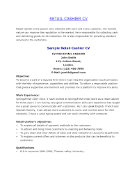 How To Write Resume For Retail Job retail manager cv template resume examples job description resume 92