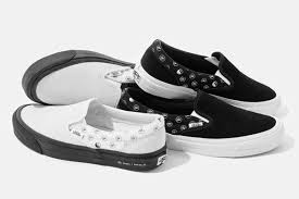 Vans Slip Ons Designs Goodhood And Vans Vault Release Slip Ons Featuring A Yin