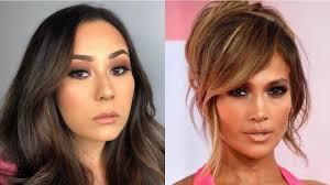 jlo inspired makeup tutorial amas 2018 victoria ruiz you
