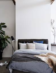 38 best Linen Lovers images on Pinterest | Bedhead, 3/4 beds and ... & Our Rupert bedhead in washed charcoal linen dressed in Abode Living bedding. Adamdwight.com