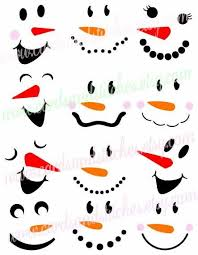 country snowman face clipart. Interesting Clipart Christmas Art 2017 Face Painting  Ornaments Projects Throughout Country Snowman Clipart T