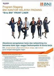 Bersedia bekerja 3 shift (pagi, sore, malam). Lowongan Kerja Bina Bank Bni Frontliner Tingkat Sma D3 S1 September 2020 Rekrutmen Lowongan Kerja Bulan Juni 2021