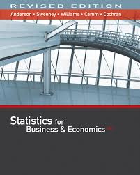 statistics for business economics revised th edition cengage