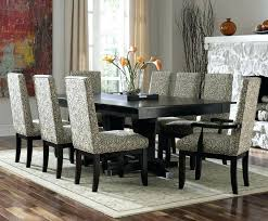 round glass dining table for 6 modern dining room sets for 6 fabulous modern glass dining