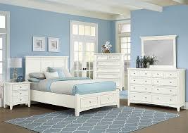 white king storage bed. Bonanza White King Storage Bed,Vaughan-Bassett Bed
