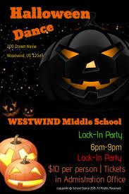Halloween Dance Flyer Templates Halloween Dance Template Postermywall