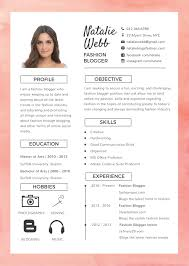 Fashion Resume Templates