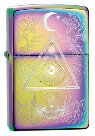<b>Зажигалка Multi Color</b> Eye of Providence Design ZIPPO 49061