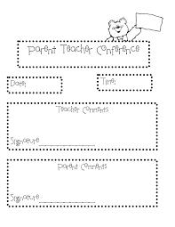 parent teacher conference letters letter template for parent teacher conference valid parent meeting