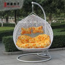 Image of: Papasan Chair Swing