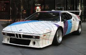 BMW M1 art car by Frank Stella headed for the auction block
