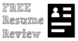 free resume review free resume review jobfairing the job fair directory