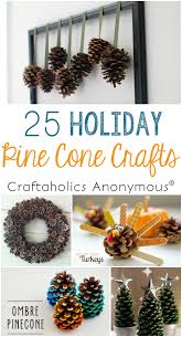 Easy Winter Pinecone Crafts  Decor Made With PineconesChristmas Pine Cone Crafts