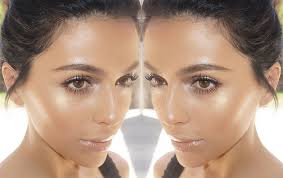 create a highlighter glow without the how to