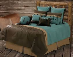 brown turquoise comforter sets 61 best and bedding images on 6