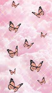 Cute Pink Butterfly Wallpapers - Top ...