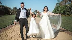 زهرة الخليج - هل انفصلت أسما شريف منير عن زوجها؟
