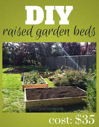build raised beds for less as low as 35