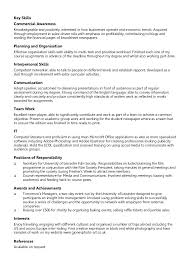 chronological resume samples inssite