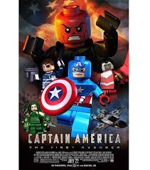 lego captain america the first avenger