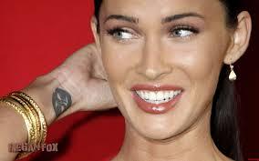Megan Fox Wrist Anime Tattoo Tattooshuntcom