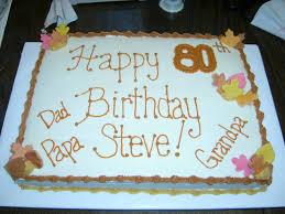 11 80th Birthday Sheet Cakes Men Photo 80th Birthday Sheet Cake