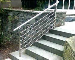 Exterior Handrail Designs Model Custom Ideas