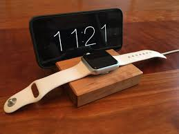 wood iphone and android docking station furniture iphone wood