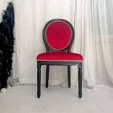upholstered dining chairs lovely black lacquered french louis xvi accent side chair upholstered in of