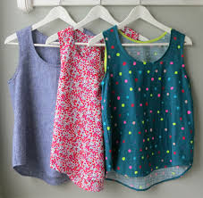 Tank Top Pattern Best Mmmcrafts In Which I Sew A Large Number Of Woven Tanks Or