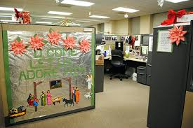 decorated office cubicles. Cubicle Decoration In Office Cute Decorating Decor Themes For New Year Decorated Cubicles