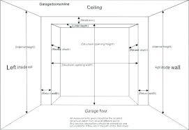single car garage doors. Average Garage Door Height Single Car Size Double Splendid Doors