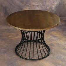wrought iron round table classical solid wood dining table restaurant cafe home living room table and