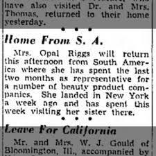 Opal Riggs - Newspapers.com